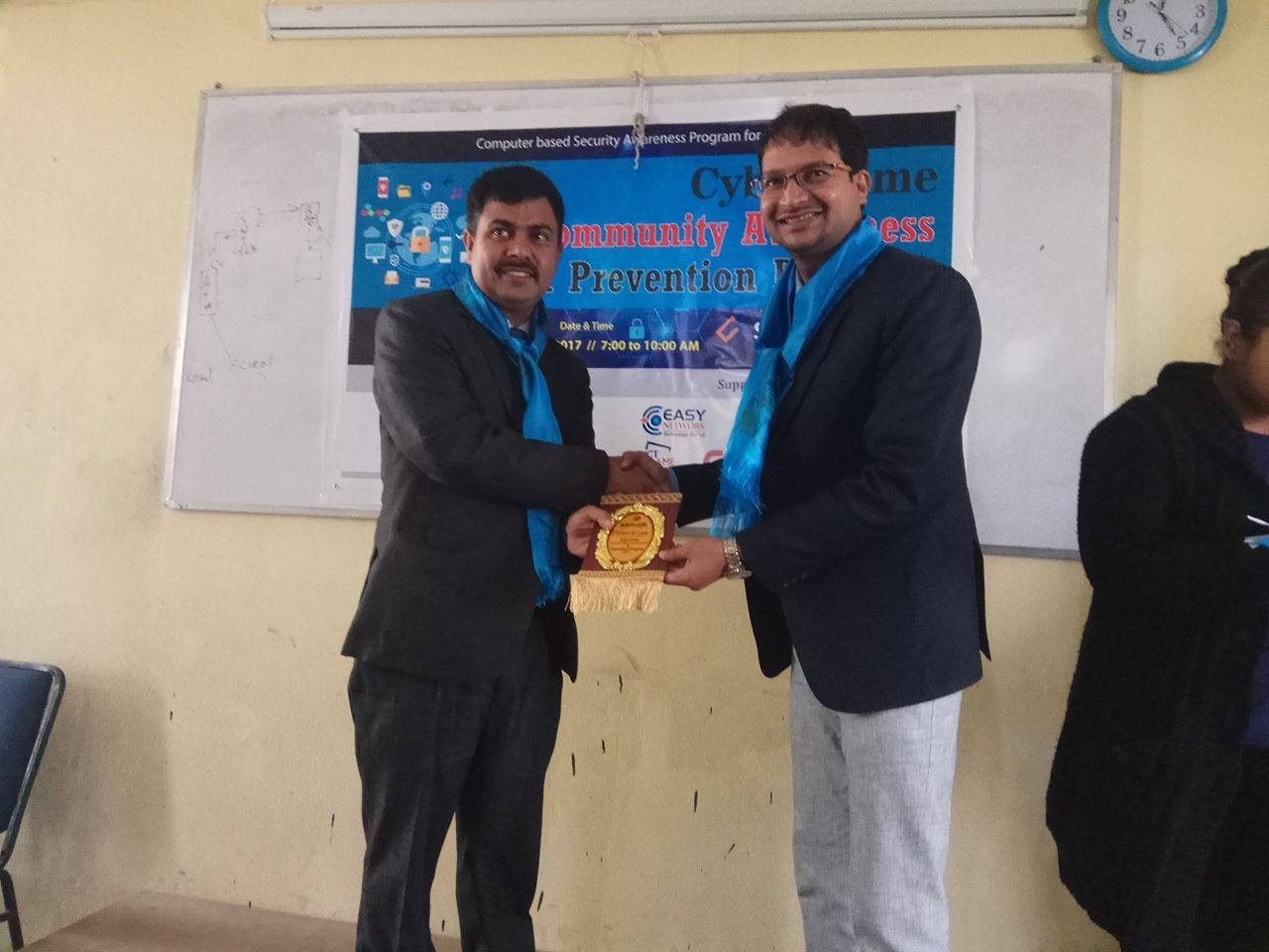 Cyber Security Awareness for Samajik College Students