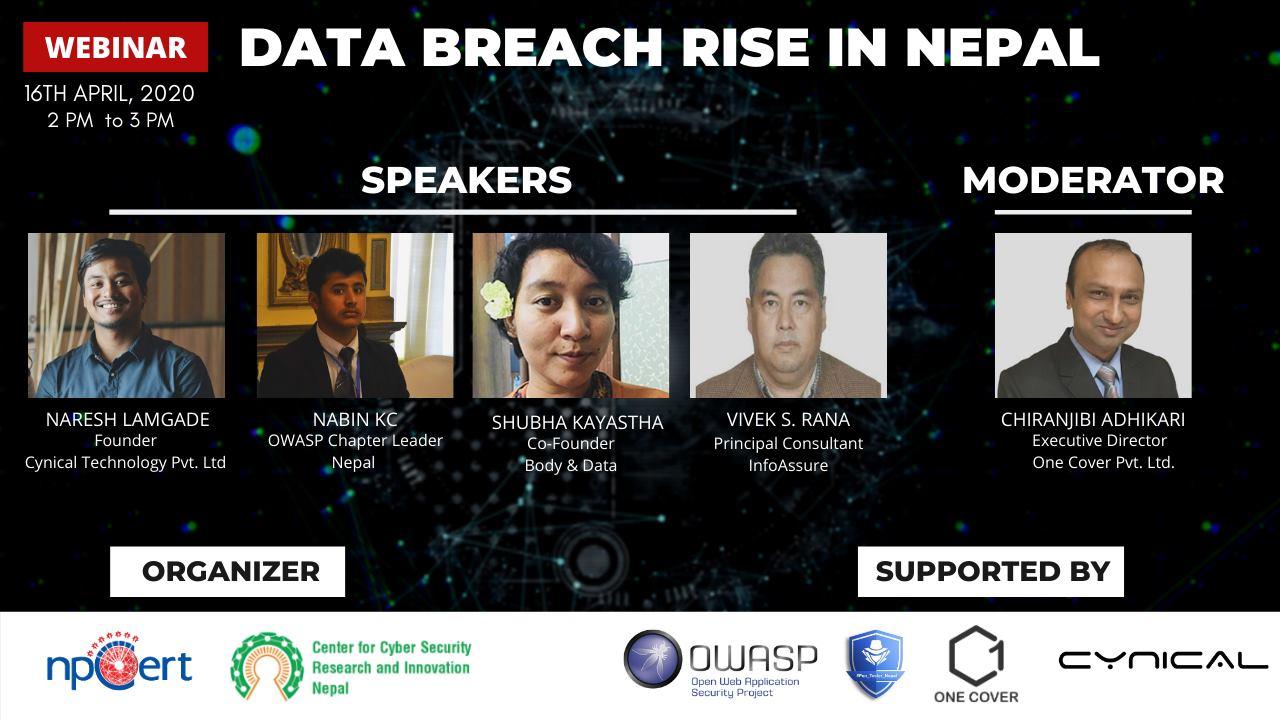 Webinar on Data Breach Rise In Nepal